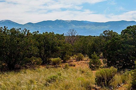 Views of Sangre de Cristo Mountains