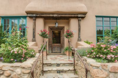 Front entry from Canyon Road