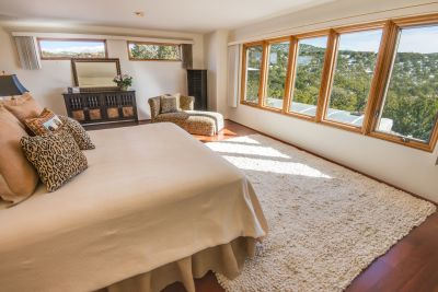 Owner's Bedroom with Views of Sangre de Cristo Mountains and Foothills