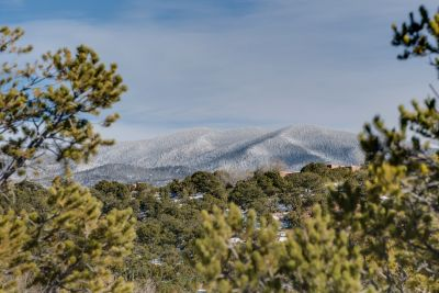 Views of Sangre de Cristo Mountains from Living Room and Dining Room