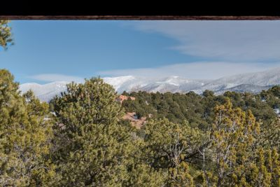 Views of Sangre de Cristo Mountains from Dining Portal