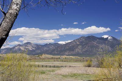 Picturesque Taos Mountain Views
