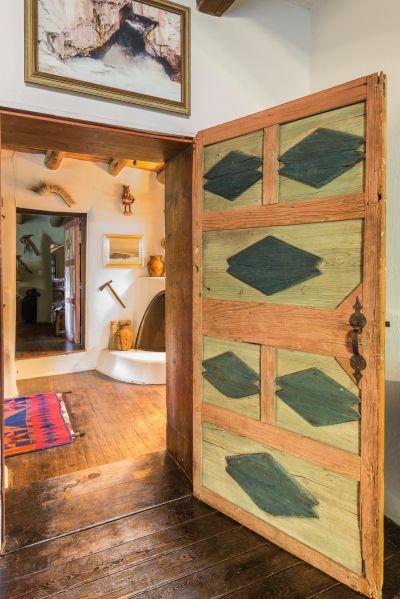 Tewa Bedroom Door Detail