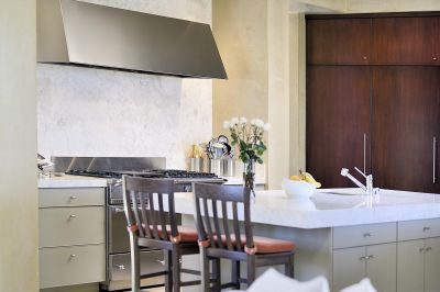 Counter Dining in Elegant Kitchen