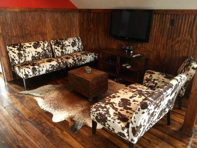 Barn Bunkhouse Living Room