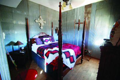 Barn Bunkhouse Bedroom