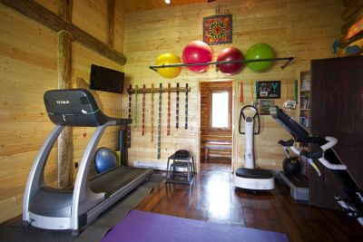 Workout Room and Gym