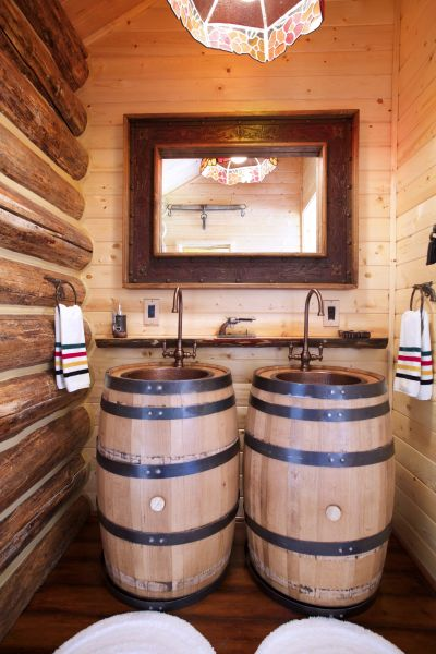 Double Barrel Sinks