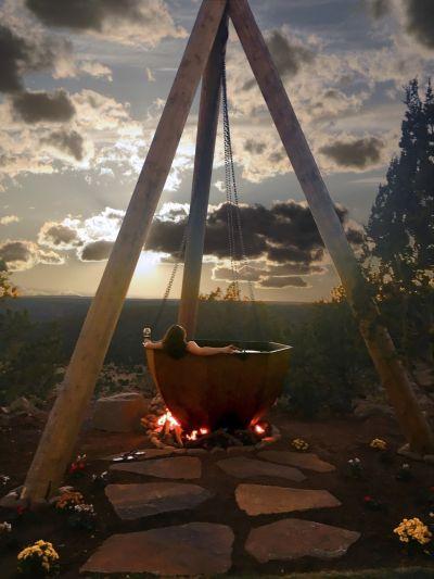 Cauldron Hot Tub