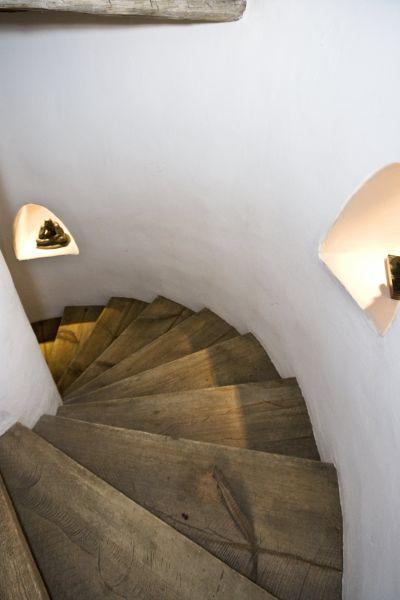 Main Residence - Spiral Stairway