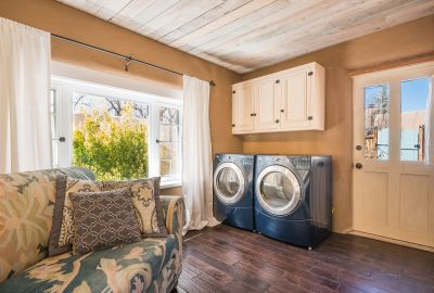 Laundry Area in Sunroom