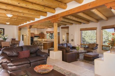 Open Concept Living Area Offers Flexibility