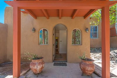 Flagstone-paved Entry Portal