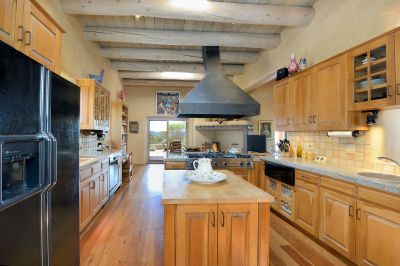 Gourmet Kitchen with Shepherd's Fireplace