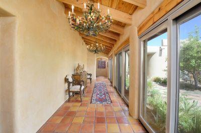 Gallery Corridor to Bedroom Suites & Guest House