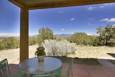 Private Portal from Owner's Suite with Sangre de Cristo Mountain Views