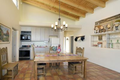 Guest House - Kitchen with Dining Area