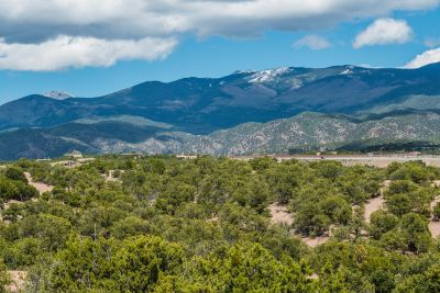 Glorious Sangre de Cristo Mountain Panorama from the Private Viewing Deck