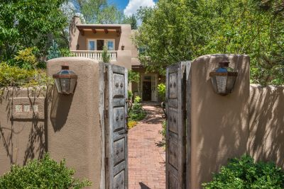 Walled and Gated Entry Provides Excellent Privacy
