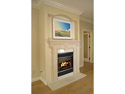 Upstairs Master Fireplace