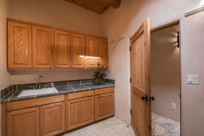 Large Laundry Room with Washer and Dryer Hookups