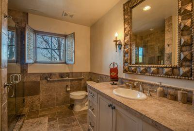Bath # 3 with custom tile work