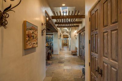 Hallway from Master & Bedroom # 4 / Den toward Secondary Bedrooms