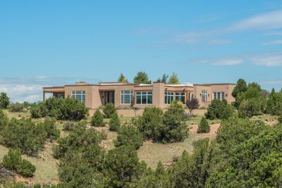 Striking Territorial Home of Amvic ICF Construction on Ten Acres with Panoramic Views