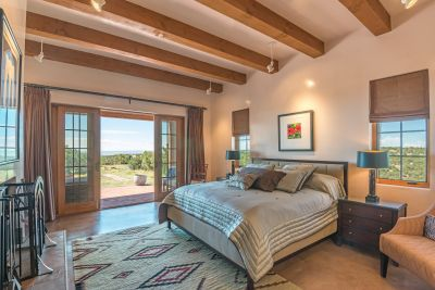 French Doors to Owners' Private Portal with Grand Views