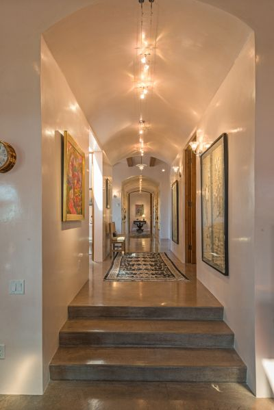 Grand Gallery to the Right and Left of the Entry Foyer