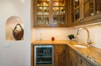 Butler's Pantry Adjoins Kitchen and Dining Room
