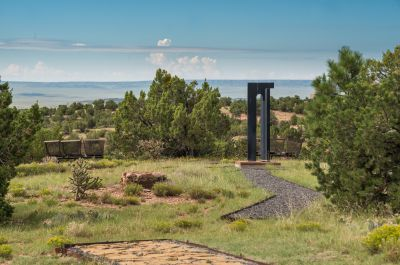 A Place to Enjoy the Expansive Views from the Ten-acre Property