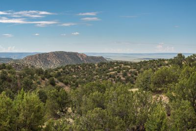 Views of the Galisteo Basin from the Owners' Suite