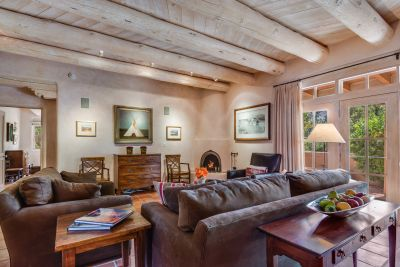 The Home Features Santa Fe Style Elements
