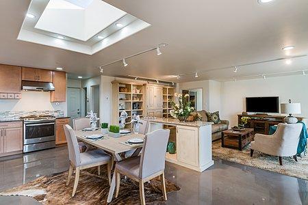 Den & Kitchen/Dining area