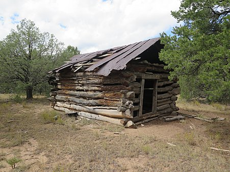 Turn of the century trapper's cabin