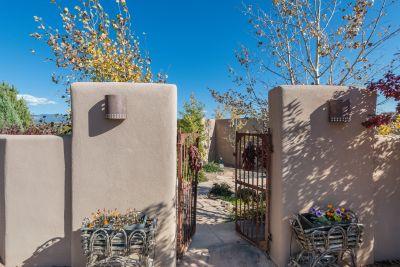 Entry Gates to Courtyard