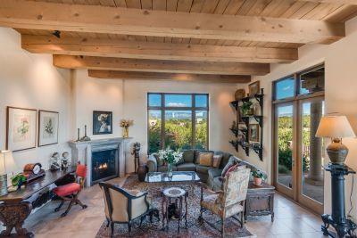Glorious Sangre de Cristo Mountain Views from the Living Room