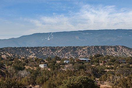 View of Sandia Peak to the South