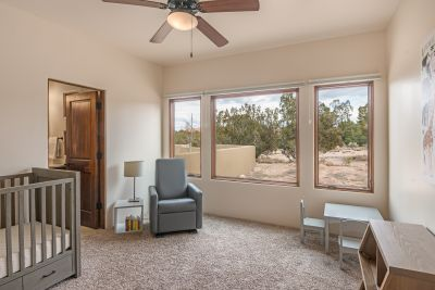 Guest Bedroom 2 with Picture Windows