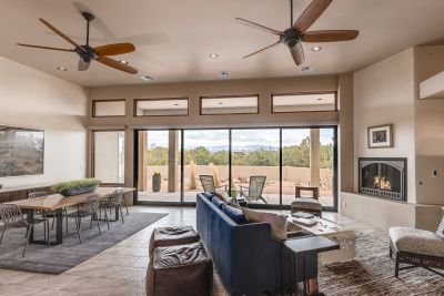 Living/Dining Rooms with View