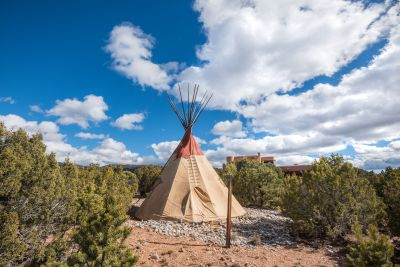 Teepee with Deck Flooring