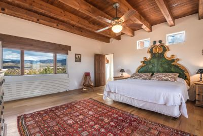 Owners' Bedroom has Stellar Mountain Views