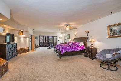 Master wing bedroom area