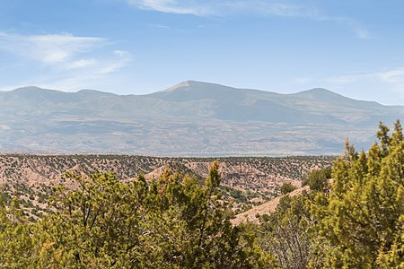 Jemez Mountain Views from the Property