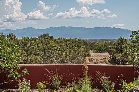 Views of Sangre de Cristo Mountains from the Entertainment Portal