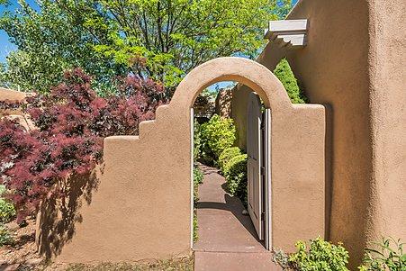Entry Couryard Gate...