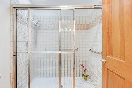 Large Walk-in Shower in Owner's Bathroom