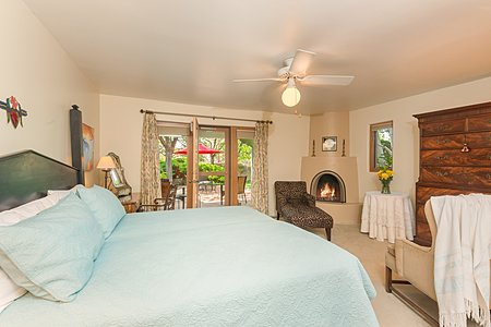 Owner's Bedroom accesses a Private Portal and Patio