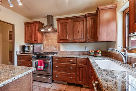 Custom Cabinetry and Stainless Steel Appliances and Granite Countertops...